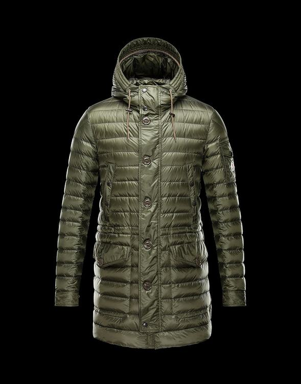 Moncler Benjamin Men Jacket Green