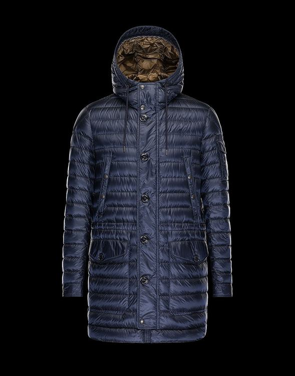 Moncler Benjamin Men Jacket Navy Blue