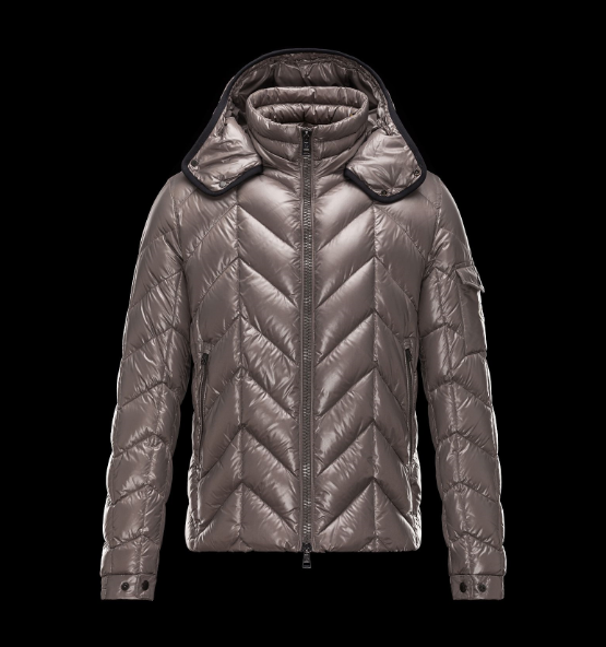 Moncler Berriat Men Jacket Gold Pink