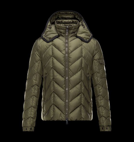 Moncler Berriat Men Jacket Green