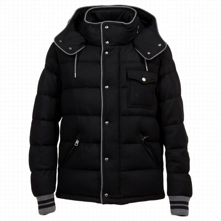 Moncler Bresle Men Jacket Black