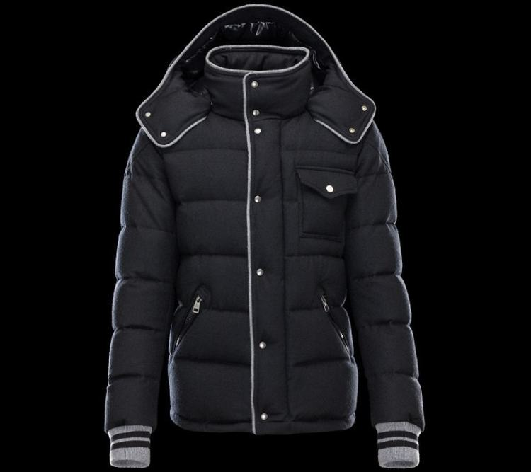 Moncler Bresle Men Jacket Dark Blue
