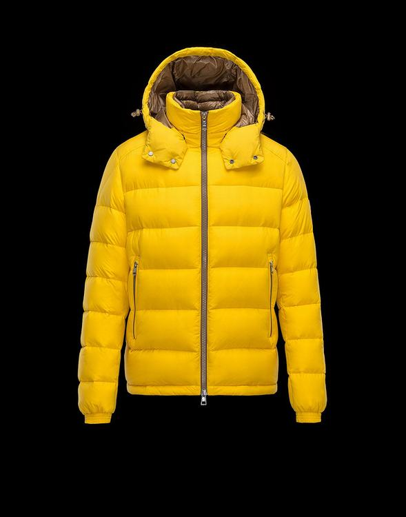 Moncler Brique Men Jacket Yellow