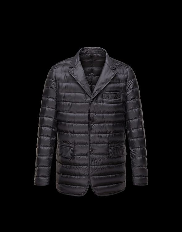 Moncler Brun Men Jacket Black