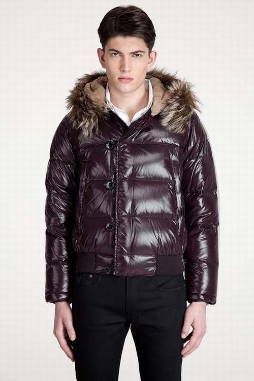 Moncler Bulgarie Men Jacket Purple