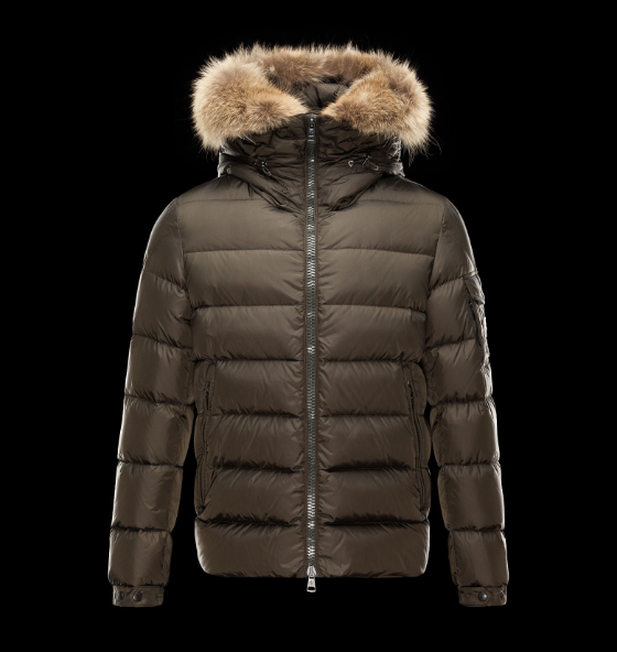 Moncler Byron Men Jacket Brown