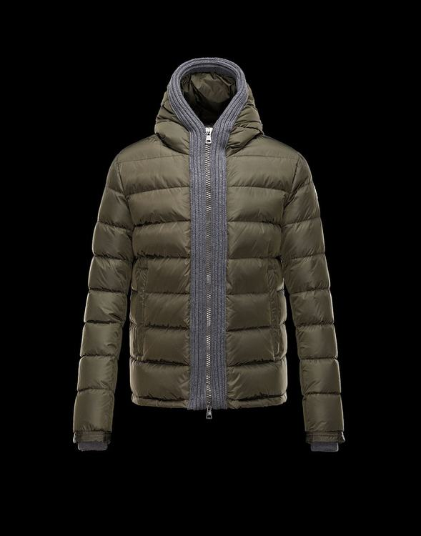 Moncler Canut Men Jacket Green