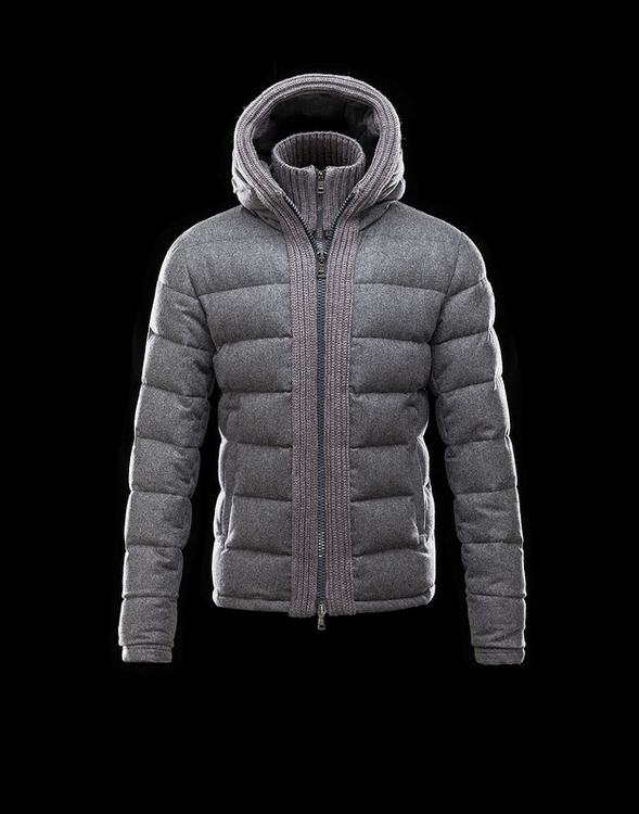Moncler Canut Men Jacket Grey