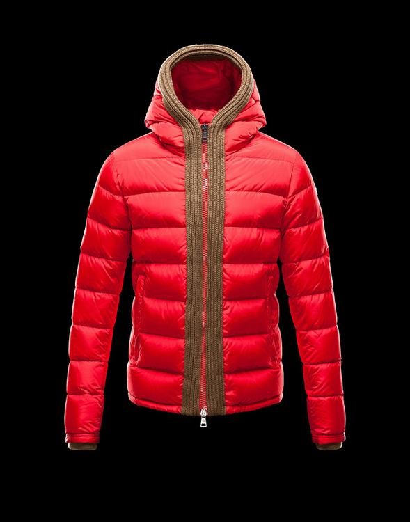 Moncler Canut Men Jacket Red