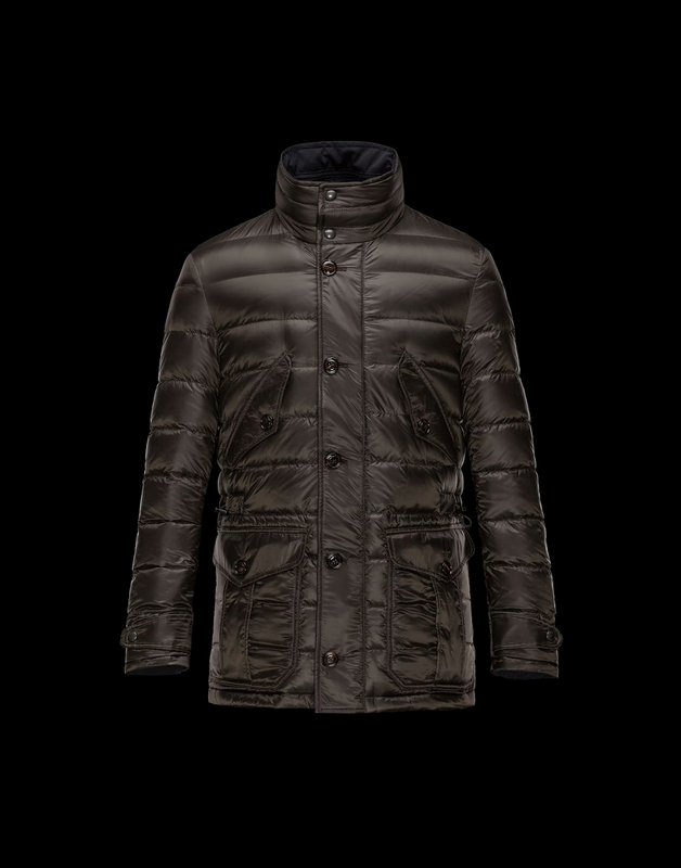Moncler Carl Men Jacket Dark Brown