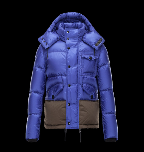 Moncler Chamonix Men Jacket Blue