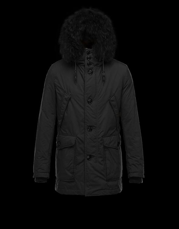 Moncler Chateaubriant Men Jacket Black