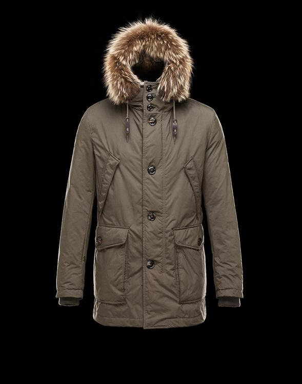 Moncler Chateaubriant Men Jacket Brown