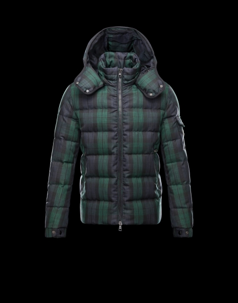 Moncler Chimay Men Jacket Blue Green