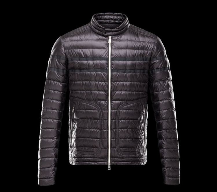 Moncler Christian Men Jacket Dark Purple