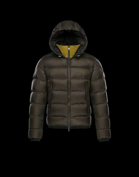Moncler Clamart Men Jacket Dark Brown
