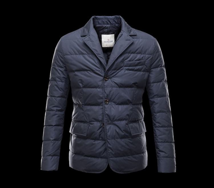 Moncler Clavier Men Jacket Blue