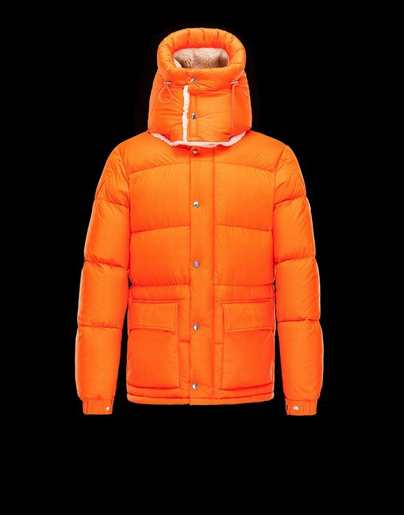 Moncler Cousteau Men Jacket Orange