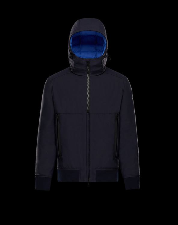 Moncler Derval Men Jacket Dark Blue