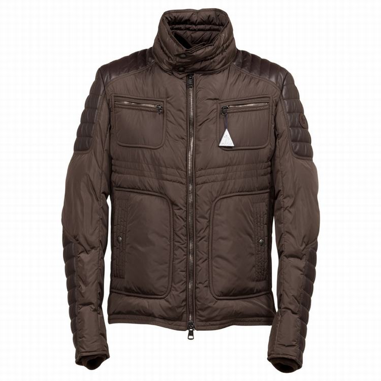 Moncler Dimitri Men Jacket Brown Red