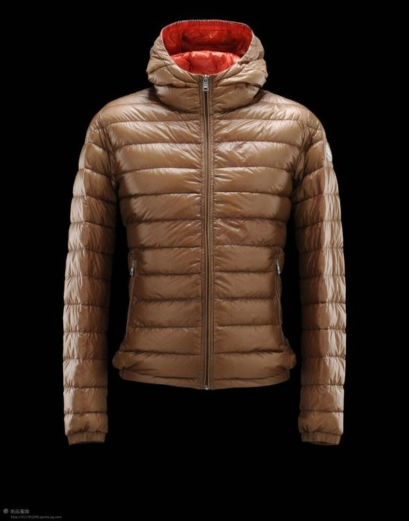 Moncler Dominic Men Jacket Brown