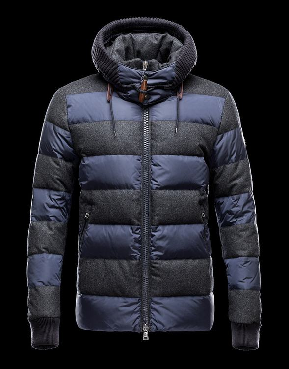Moncler Dordogna Men Jacket Grey Blue