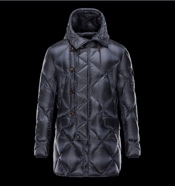 Moncler Edwin Men Jacket Blue