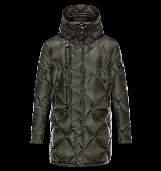 Moncler Edwin Men Jacket Green