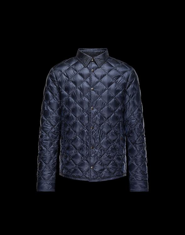 Moncler Frederic Men Jacket Blue