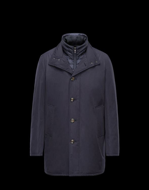 Moncler Fusain Men Jacket Blue