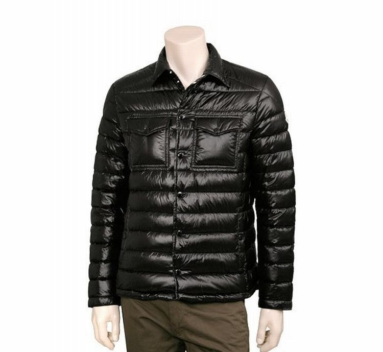 Moncler Gergoire Men Jacket Royal Black