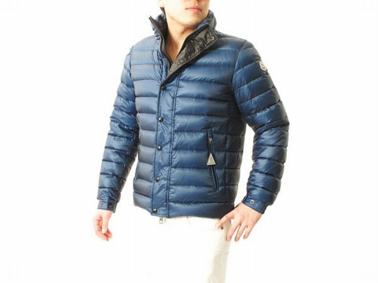 Moncler Gergy Men Jacket Light Blue