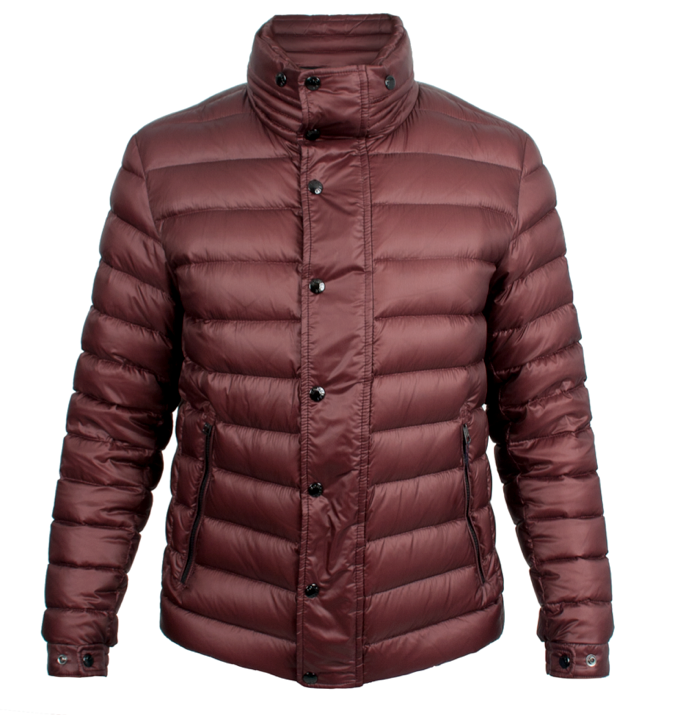 Moncler Gergy Men Jacket Wine Red
