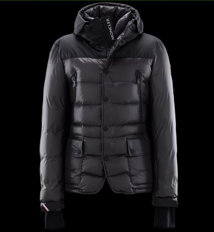 Moncler Grenoble Bataillouse Men Jacket Black