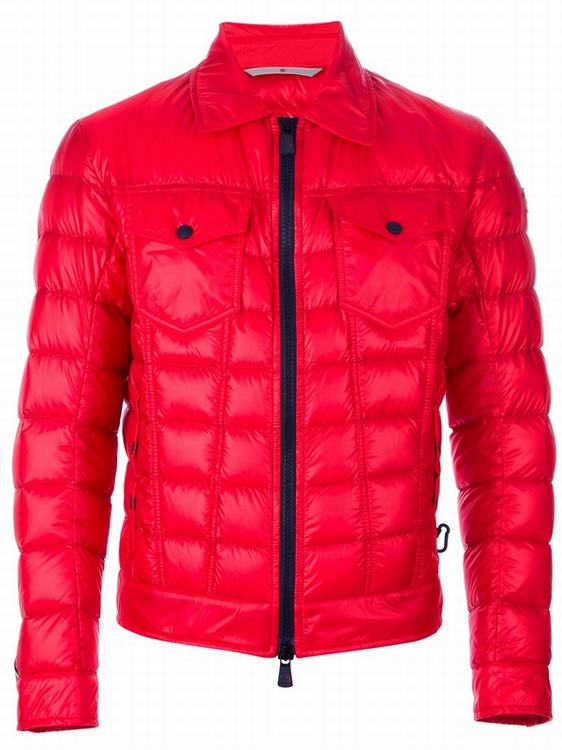 Moncler Grenoble Frehel Men Jacket Red