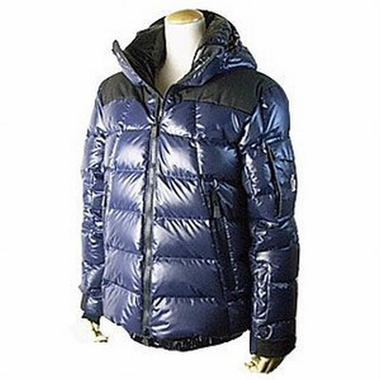 Moncler Grenoble Laurenhills Men Jacket Blue Black