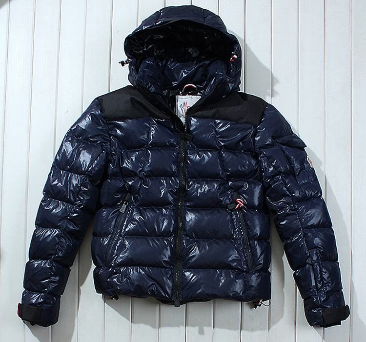Moncler Grenoble Laurenhills Men Jacket Navy Blue