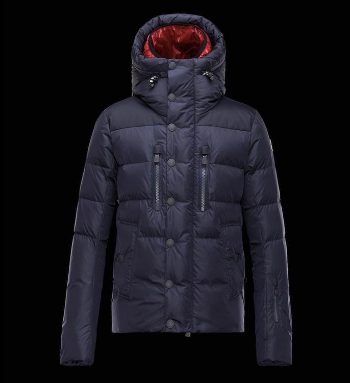Moncler Grenoble Rodenberg Men Jacket Blue