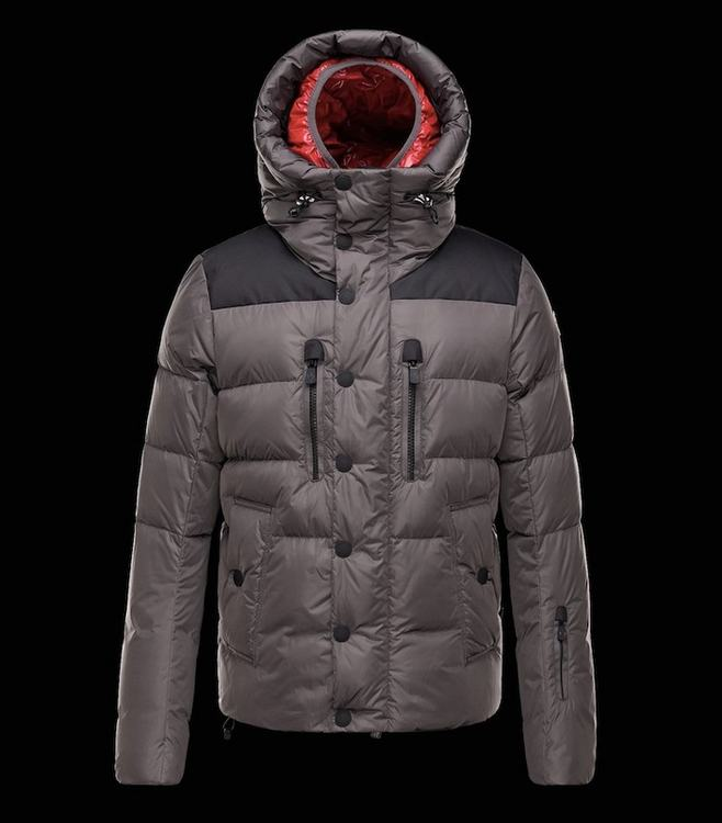 Moncler Grenoble Rodenberg Men Jacket Grey Black