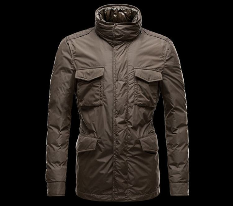 Moncler Hector Men Jacket Brown