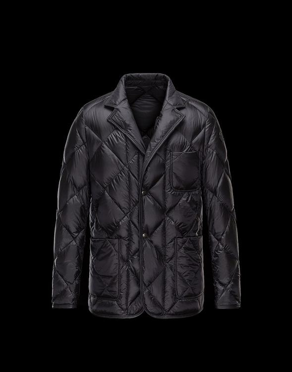Moncler Herminier Men Jacket Black