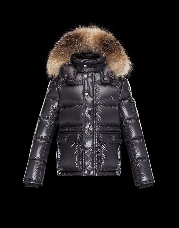 Moncler Hubert Men Jacket Dark Red