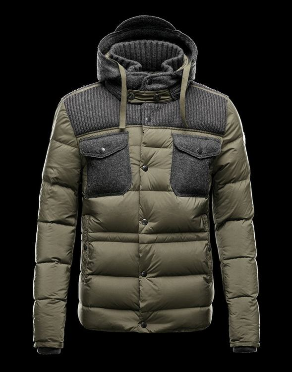 Moncler Leblond Men Jacket Army Green