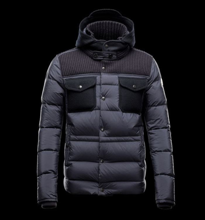 Moncler Leblond Men Jacket Blue