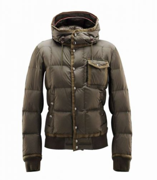 Moncler Loir Men Jacket Light Brown