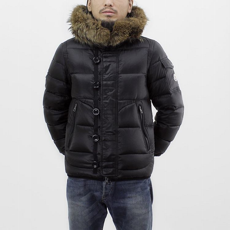 Moncler Marseille Men Jacket Black
