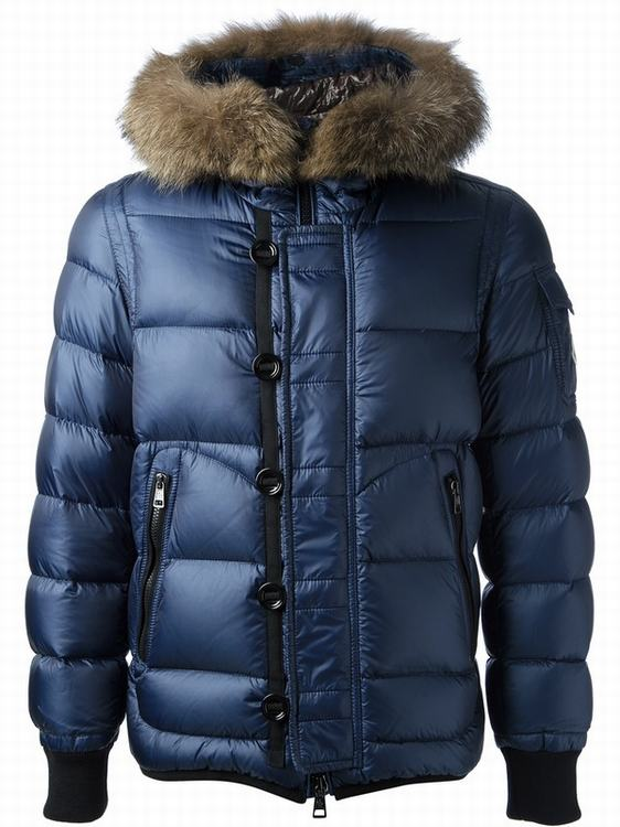 Moncler Marseille Men Jacket Royal Blue