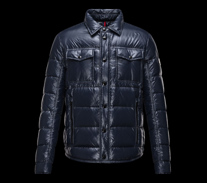 Moncler Matthew Men Jacket Dark Blue