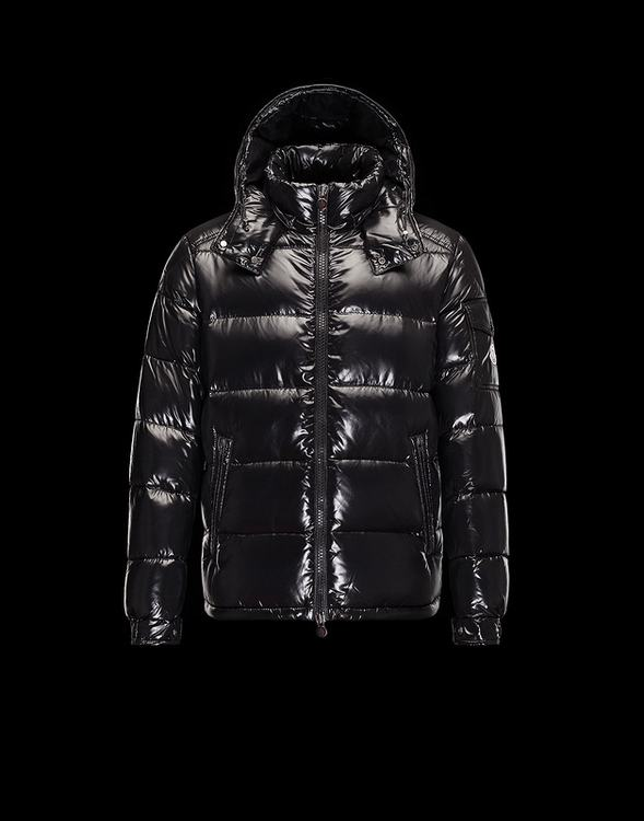 Moncler Maya 2017 Men Jacket Black