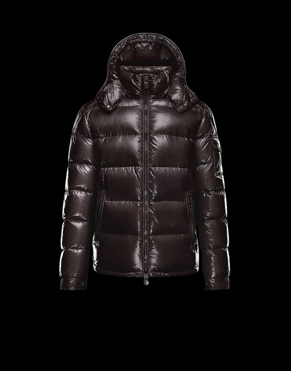 Moncler Maya 2017 Men Jacket Dark Brown